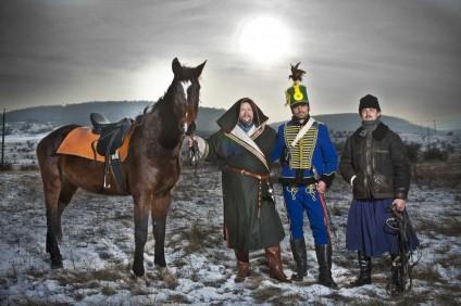 Az Eurázsiai Történelmi Lovasút résztvevői